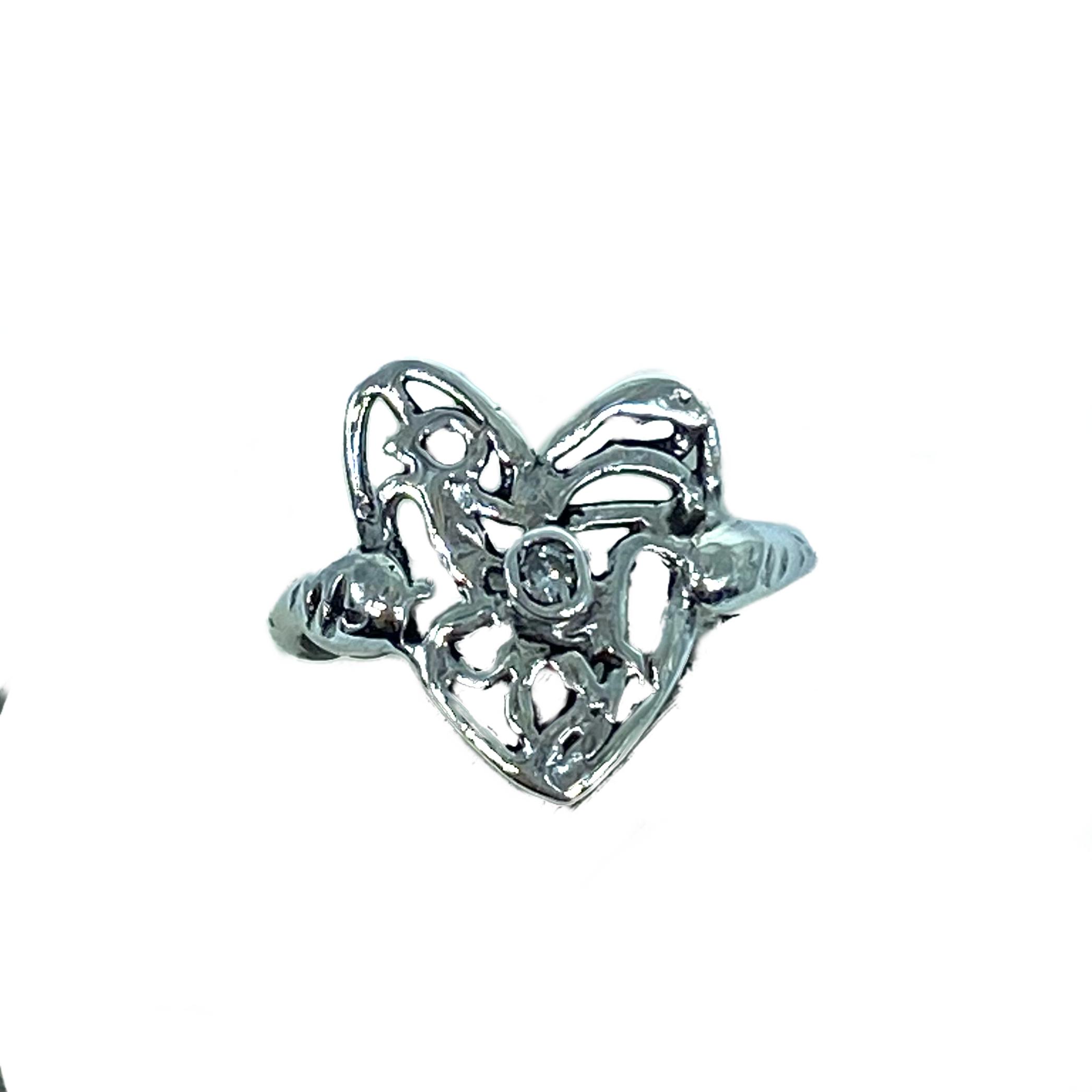 anello cuore di fata