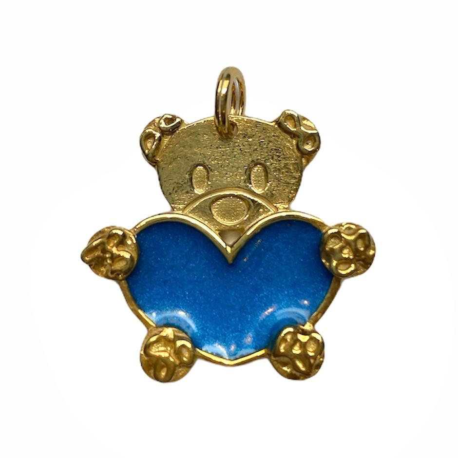 orsetto teddy criff blu